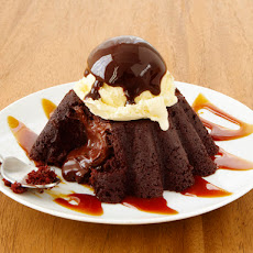 Almost-Famous Molten Chocolate Cake