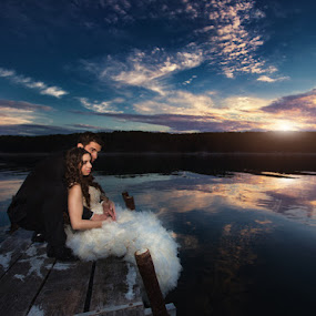 Wedding in Croatia 2 by Petar Lupic - Wedding Bride & Groom ( love, family, wedding, bride, groom )