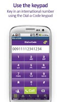 Screenshot of The Dial-a-Code App