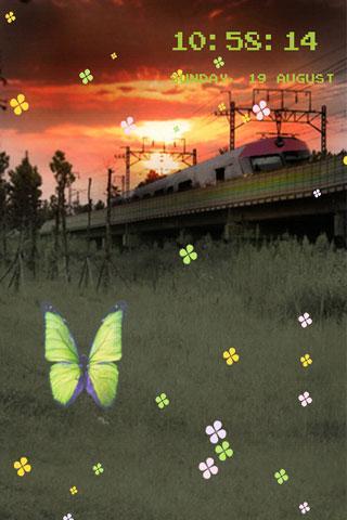 列車のライブ壁紙
