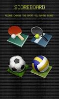 Screenshot of ScoreBoard