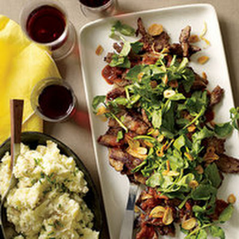Steak Salad With Horseradish Dressing Recipes — Dishmaps