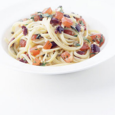 Linguine with Puttanesca Sauce