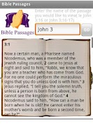 Screenshot of Bible Passages