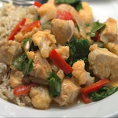 Quick Thai Chicken Red Curry