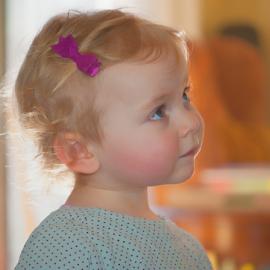 by Keith Sutherland - Babies & Children Toddlers ( child, girl, hadley, poka dots, wonder )