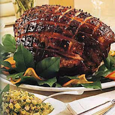 Marmalade-Glazed Ham with Sweet Orange-Tea Sauce