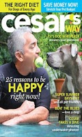 Screenshot of Cesar's Way Magazine