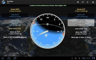 Screenshot of TerraTime