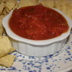 The Best Restaurant Salsa Made at Home