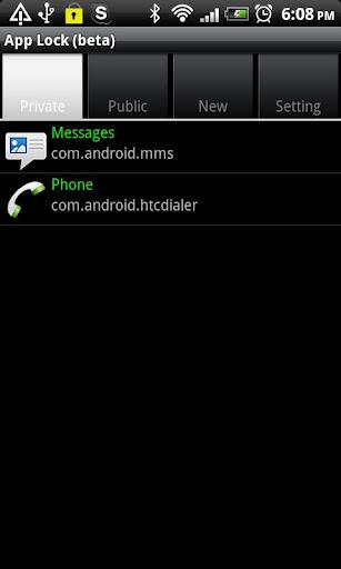 App Lock beta