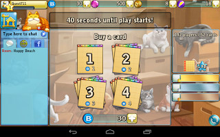 Screenshot of Bingo Cats