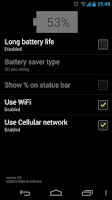 Screenshot of Long Battery Life DEMO