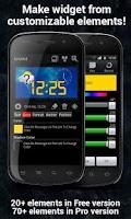 Screenshot of Make Your Clock Widget Pro