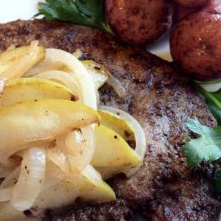 Beef Liver With Apples And Onions