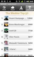 Screenshot of Weddar
