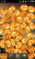 Screenshot of Bouncy Pumpkins Wallpaper FREE