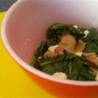 Hot Spinach and Artichoke Salad