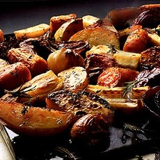 Roasted Roots with Herbs