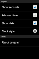 Screenshot of Night Clock Halloween Lite
