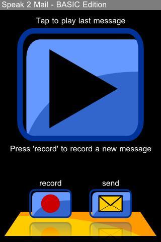speak2mail - BASIC Edition