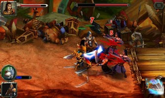 Screenshot of Sanguo Heroes New