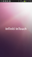 Screenshot of Infiniti InTouch