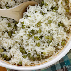 Baked Rice and Peas