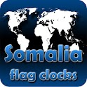 Somalia flag clocks icon