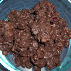 Dark Chocolate Cranbery Walnut Clusters