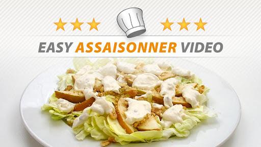 EASY ASSAISONNER VIDEO