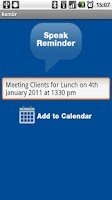 Screenshot of Rembr Lite - Voice to Calendar