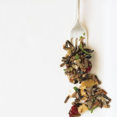 Wild Rice, Walnut, and Cranberry Dressing