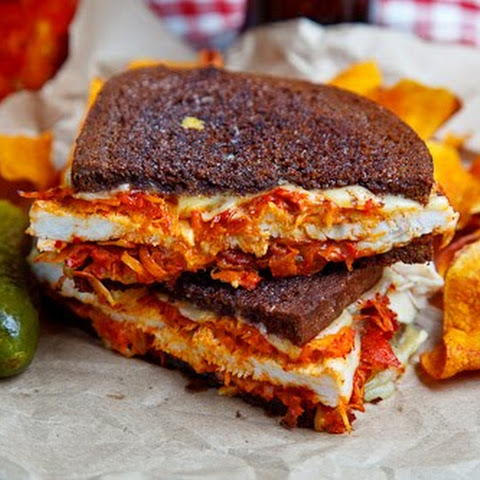 The Kimchi Rachel Sandwich (aka Roast Turkey Reuben Sandwich with ...