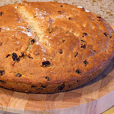 Irish Soda Bread with Raisins and Caraway