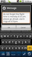Screenshot of Flying alarm clock
