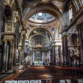 Brompton Oratory by Andrea Conti - Buildings & Architecture Places of Worship ( church of the immaculate heart of mary, interior, oratory, baroque, catholic, londra, london, church, brompton, chiesa, architecture )