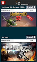 Screenshot of Helicopter Games