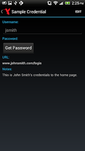 Pleasant Password Server App - screenshot