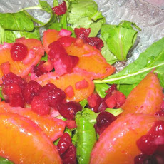 Fresh Citrus and Cranberry Salad