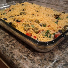The Best Taco Dip Ever!!!
