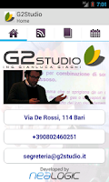 Screenshot of G2Studio News & Safety