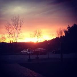 Sunrise by Kylie Kellard - Instagram & Mobile Instagram ( color, college, beauty, sunrise, johnson )