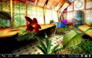 Screenshot of Magic Greenhouse 3D Pro lwp