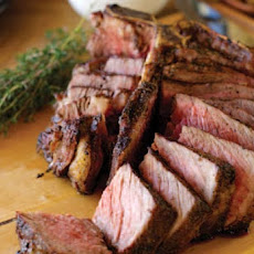 Grilled Thyme Smoked Porterhouse Steak