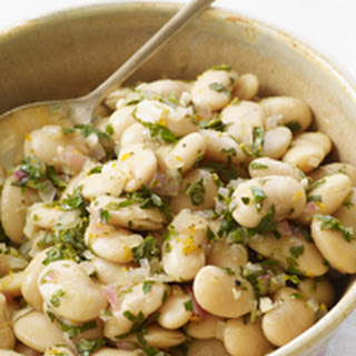 Italian Butter Beans with Meyer Lemon and Tarragon