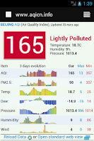 Screenshot of Guangzhou Air Quality 广州空气质量