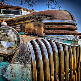 Vintage Truck Grill by Ron Meyers - Transportation Automobiles