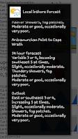 Screenshot of Tide Navigator