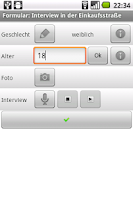Screenshot of CollectR